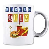 Shut Up Burger Quiz Logo Tasse Classique de thé Tasse de café...