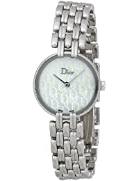 Christian Dior Femmes CD092110M002 Bagheera inoxydable Montre-bracelet en  acier 24b0deffd2a