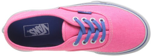 Vans T Authentic, Baskets mode mixte bébé Rose (Washed Twill P)