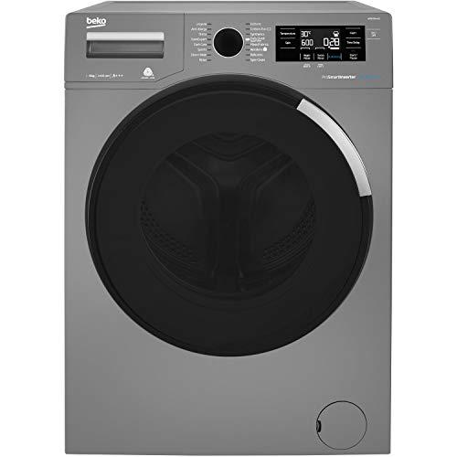 Beko WR84PB44DG A+++ Rated Freestanding Washing Machine - Graphite