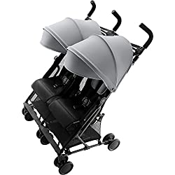 Britax Holiday Double Poussette Urbaine Steel Grey
