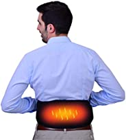 Sandpuppy Portable Wireless Electric Heating Belt For Back Pain Relief - Smartphone App Based Control (Micro-V