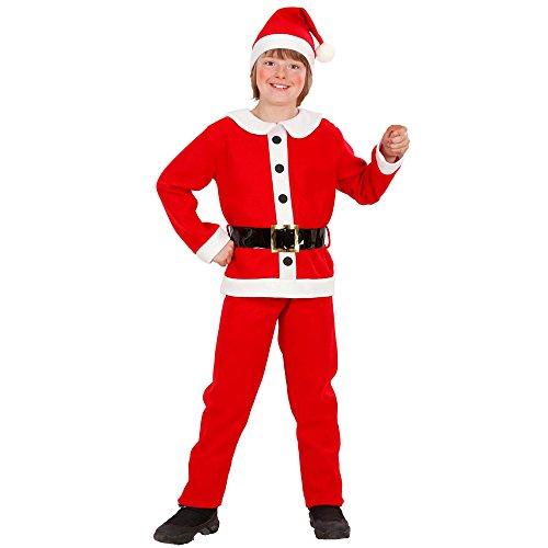 Vestito Babbo Natale bimbo bambini costume