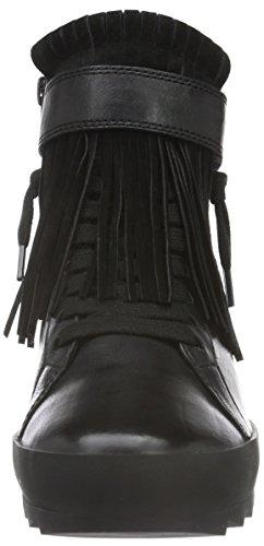 Kennel und Schmenger Schuhmanufaktur Damen Soho High-Top Schwarz (schwarz Sohle schwarz 470)