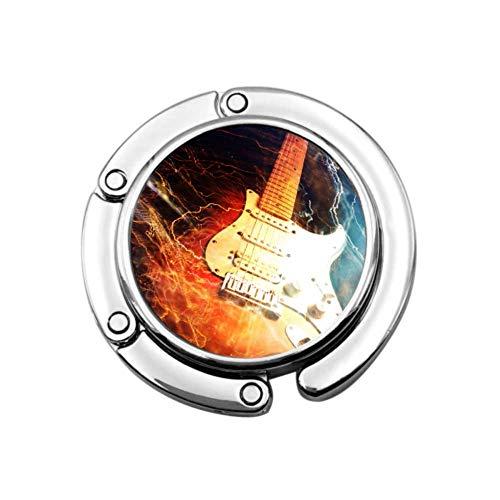 Jazz Rock Cool Guitarra eléctrica para niño Colgador de Mesa Plegable Bolsos...