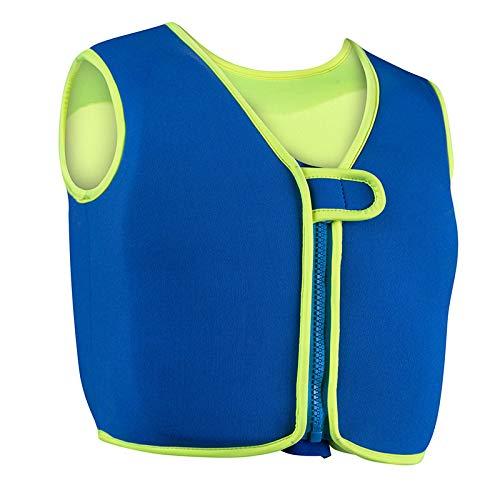 SBART Schwimmweste Kinder Schwimmlernweste Trainingweste für Baby Kleinkinder von 1-6 Jahre 10-22kg (Blau, L für 17-22kg)