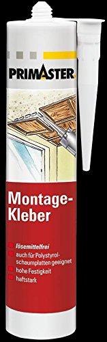 Primaster Montage-Kleber 450 g, weiss, lösemittelfrei