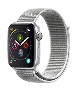 Apple Watch Series 4 (GPS, 44mm) Aluminiumgehäuse Silber - Sport Loop Muschel (B07HBF7JBY) | Amazon price tracker / tracking, Amazon price history charts, Amazon price watches, Amazon price drop alerts