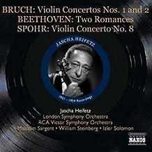 Max bruch - ludvig van beethoven - louis spohr jascha heifetz, violon