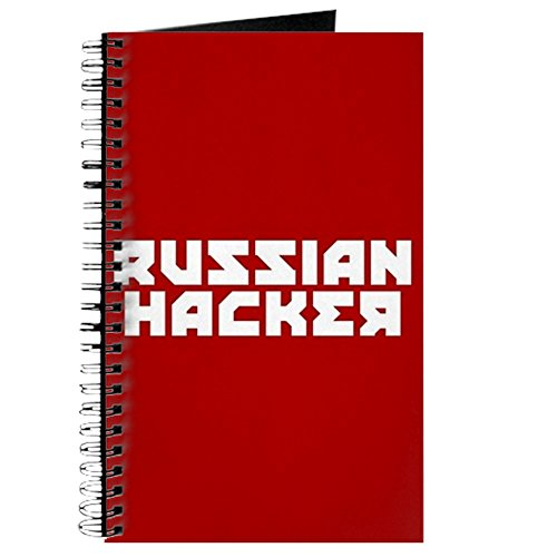 CafePress – Russian Hacker – Spiralbindung Journal Notebook, persönliches Tagebuch, Dot Grid