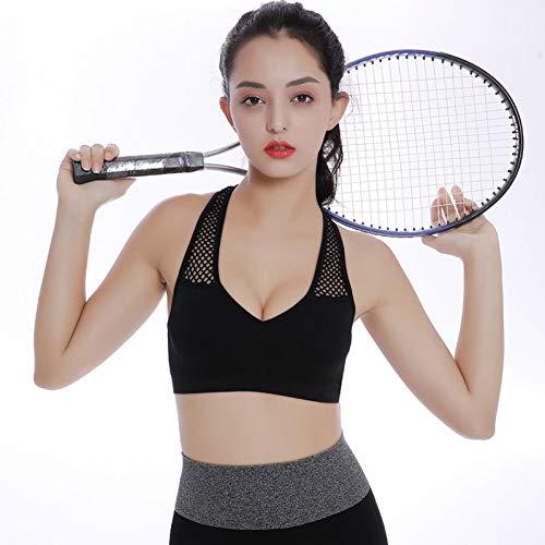 AIYUNDONG Hohl Schultergurt Schönheit Zurück Sport Fitness Yoga BH Atmungsaktiv Und Schnell Trocknend Laufen Korsett Yoga Weste Weiblich -