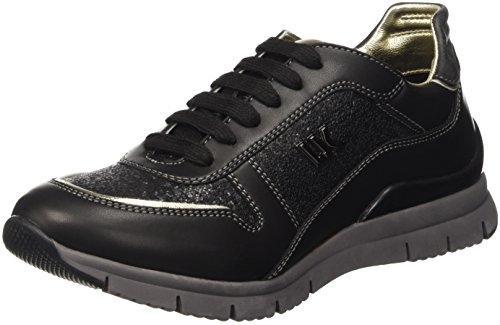 Lumberjack Carol, Scarpe Low-Top Donna Nero (M0347 Black/Gun Metal)