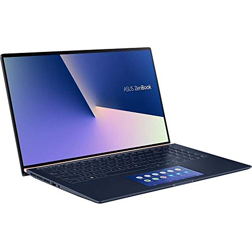 ASUS ZenBook 15 UX534FTC (90NB0NK1-M02450) 39,6cm (15,6 Zoll, Full HD, WV, matt) Ultrabook (Intel Core i7-10510U, NVIDIA GeForce GTX1650 MaxQ (4GB), 16GB RAM, 512GB SSD, Windows 10) Royal Blue