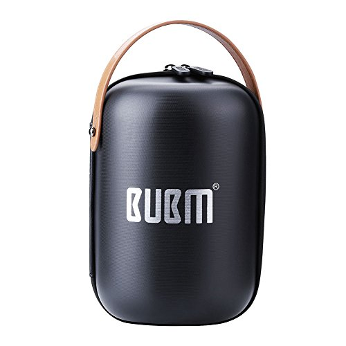 BUBM Estuche de Transporte Bluetooth Case Carry Case para HomePod, Estuche rígido de Viaje para Homepod Apple Portable Bluetooth Speaker