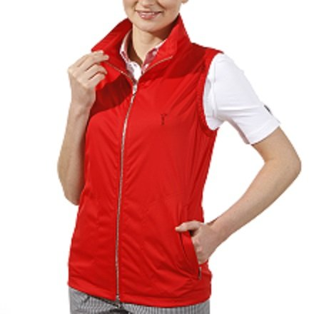 golfino-micro-waistcoat-femme-rouge-femme-taille-38