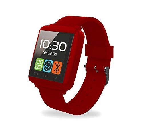 Smartwatch Bluetooth Techmade TechWatchONE Mini Pantalla Táctil 1.44' micrófono - Rojo