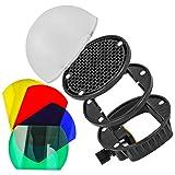 Minadax Universal Diffusor Lichtformer-Set mit Farbfilter