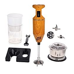 FirstChoice 200 Watts Wooden Color Blender with attachment