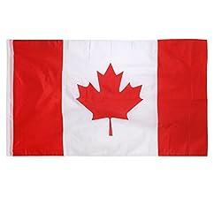 Generic Canada Canadian Flag Maple Leave Flag Big Banner 150*90CM / 5*3FT-13008753MG