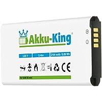 Akku-King Akku für Samsung Galaxy S5 Mini SM-G800F, S5 Dx SM-G800H, SM-G800Y - ersetzt EG-BG8000BBE - Li-Ion 2100mAh