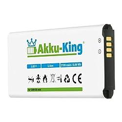 Akku-King Akku kompatibel mit Samsung EG-BG800BBE - Li-Ion 2100mAh - für Galaxy S5 Mini, DuoS SM-G800F, S5 Dx SM-G800H, SM-G800Y