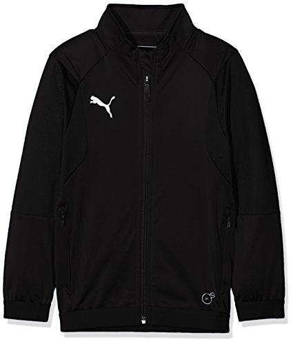 PUMA Kinder Liga Training Jacket Jr Jacke, Black White, 152