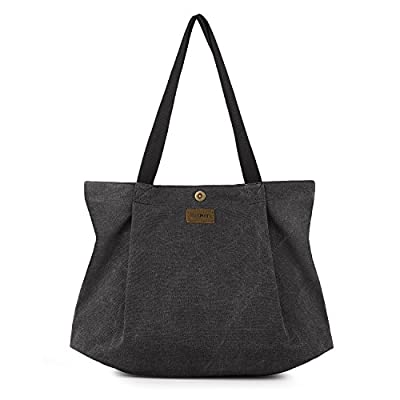 SMRITI Canvas Tote Bag for School Work Travel and Shopping
