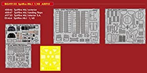 Eduard EDBIG49132 Big Ed - Juego de Accesorios fotográficos (1:48-Spitfire MK.I (Airfix)