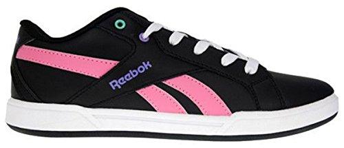 CL SOLID COURT - Chaussures Fille Reebok Noir