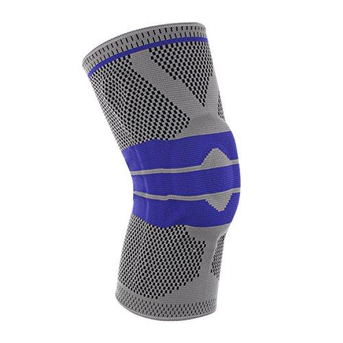 Libertepe Unisex Knie-Sportbandage Atmungsaktive Knieschützer beim Sport Alltag Joggen Laufen Fußball für Damen und Herren