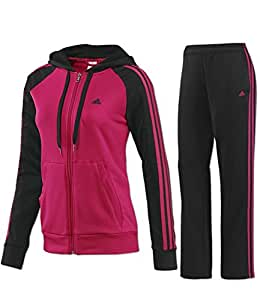 adidas Performance Damen Trainingsanzug schwarz XS