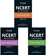 NCERT Solutions for Physics /Chemistry / Maths Class 11 (Set of 3 books)