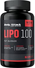 Body Attack LIPO 100 Fat Burner, 120 Kapseln, 1er Pack (1 x 101 g)