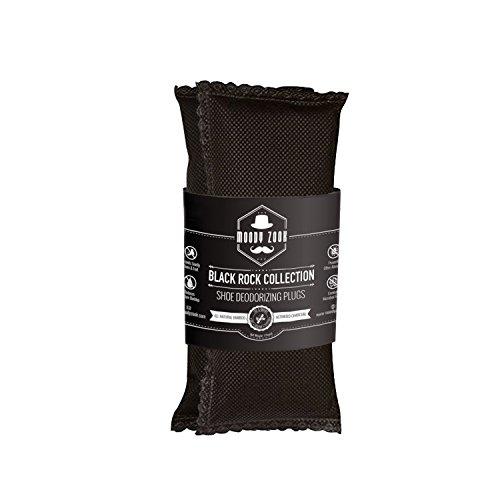 Moody Zook Mejor Desodorante Pies de Carbon Activado - 2 75g de Bolsas Absorbentes de Olor, Completamente Natural - Elimina el Olor a Humo, Pies y con los Calcetines Malolientes