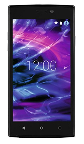"MEDION LIFE E5005 MD 99915 5"" Zoll Smartphone, Android 6.0, Quad Core Prozessor, 16GB Speicher, 1 GB RAM, Dual-SIM, 5MP Digitalkamera, LTE, schwarz"