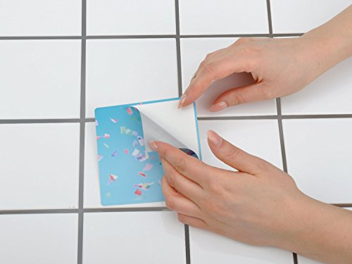 Adesivi pavimento in pvc autoadesivo piastrelle sticker