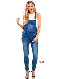 super cheap rock-bottom price uk store Amazon.co.uk: Blue - Dungarees / Women: Clothing