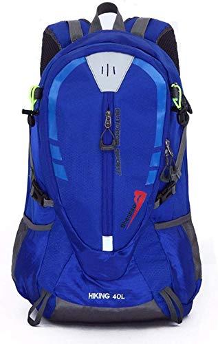Gog zaino, adatto per sport all'aria aperta hobby di lunga distanza viaggiatore alpinismo viaggi all'aperto zaino multifunzionale di grande capacità nylon impermeabile resistente all'usura trave di a
