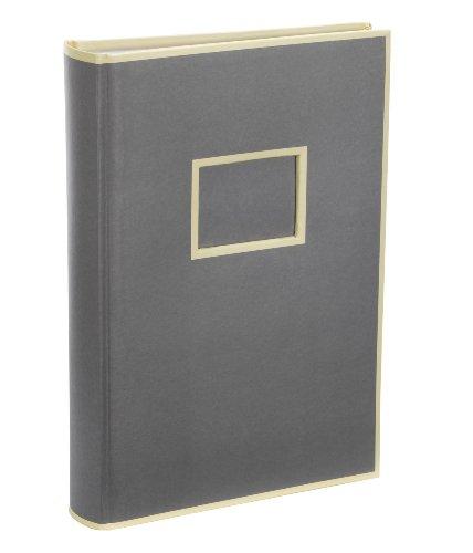 Semikolon 300 Pocket Album grey (grau) | Foto-Album mit 100 Seiten | Foto-Buch mit Einschubtaschen für insgesamt 300 Bilder im Format 10 x 15 cm | 3 Bilder pro Seite (Fit 6-pocket)