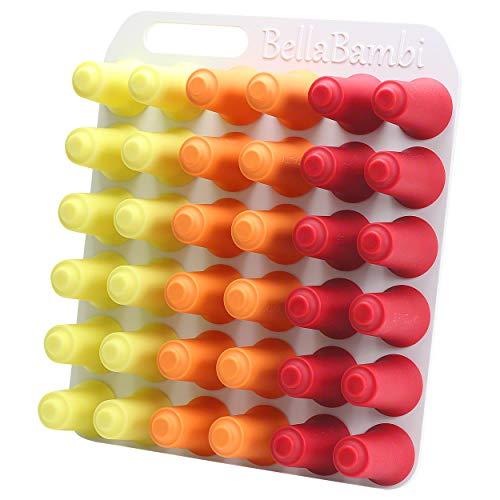 Preisvergleich Produktbild BellaBambi® original Profi,  Sensitive gelb 12 Stück,  Intense rot 12 Stück,  Vitality orange 12 Stück