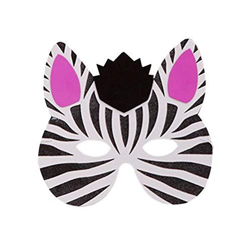 Amosfun 14Pcs Kinder Halloween Maske Tier Maske Kostüm für Geburtstagsfeier Dress up Supplies