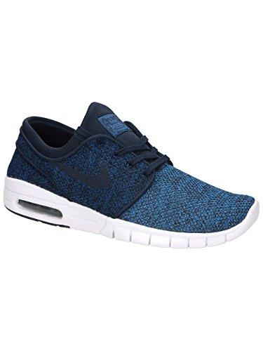 Nike Herren Sb Stefan Janoski Max Skateboardschuhe Blau (Industrial Blue/Obsidian-Photo Blue-LT A)