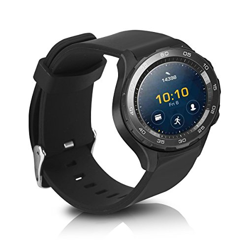 kwmobile Huawei Watch 2 Armband - Silikon Fitnesstracker Sportarmband Band für Huawei Watch 2