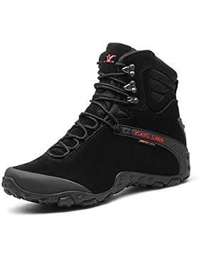 XIANG GUAN neuzugang Herren Damen Outdoor Schuhe Wanderschuhe wasserabweisende Trekkingschuhe rutschfeste Wanderstiefel...