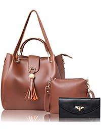 WOMEN MARKS BROWN HAND BAG (COMBO)