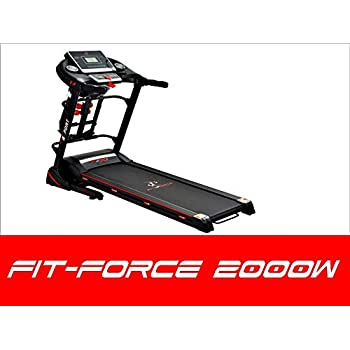 FIT-FORCE Cinta de Correr Plegable 2000W con masajeador,USB ...