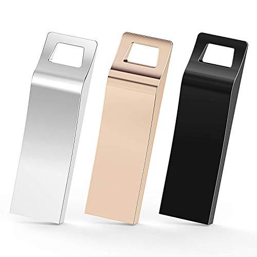 TOPESEL Memorias USB 64GB 2.0 3 Unidades Pendrives