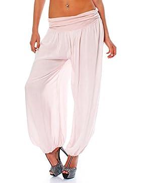Malito Mujer Bombacho en Muchos Colores y Patrones Pantalón Aladdin Yoga S1482