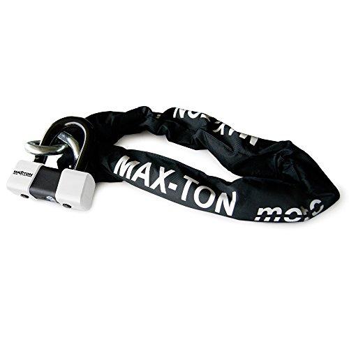 Maxton MAX75120 Antivol chaîne SRA Longueur 120cm + Mini-U SRA