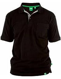 f0208de3f01 Duke D555 - Camiseta Polo de piqué Modelo Grant en Talla Grande para Hombre